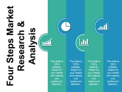 Four Steps Market Reasrch And Analysis Ppt PowerPoint Presentation Infographic Template Maker