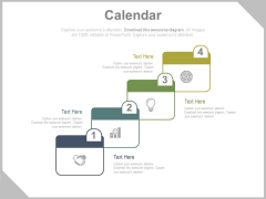 Four Steps Timeline Infographic Diagram Powerpoint Slides