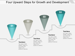 Four Upward Steps For Growth And Development Ppt PowerPoint Presentation Infographic Template Graphic Tips