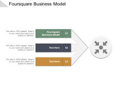 Foursquare Business Model Ppt PowerPoint Presentation Gallery Elements Cpb