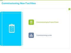 Framework Administration Commissioning New Facilities Ppt Visual Aids Pictures PDF