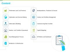 Framework Administration Content Ppt Model Introduction PDF