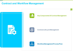 Framework Administration Contract And Workflow Management Ppt Summary Picture PDF