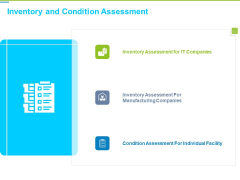 Framework Administration Inventory And Condition Assessment Ppt Icon Brochure PDF