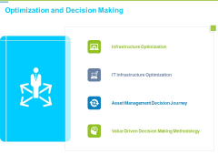 Framework Administration Optimization And Decision Making Ppt Icon Example PDF