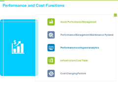 Framework Administration Performance And Cost Functions Ppt Professional Portfolio PDF