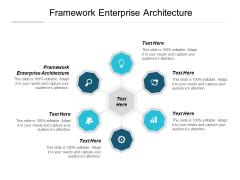 Framework Enterprise Architecture Ppt PowerPoint Presentation Summary Inspiration Cpb