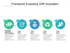 Framework Evaluating ERP Acquisition Ppt PowerPoint Presentation Inspiration Elements Cpb Pdf