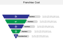 Franchise Cost Ppt PowerPoint Presentation Pictures Styles Cpb