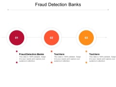 Fraud Detection Banks Ppt PowerPoint Presentation Pictures Format Cpb Pdf