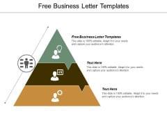 Free Business Letter Templates Ppt Powerpoint Presentation Icon Maker Cpb