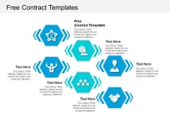 Free Contract Templates Ppt PowerPoint Presentation Layouts Infographics Cpb