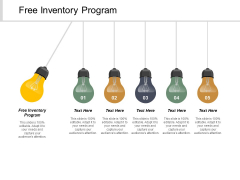 Free Inventory Program Ppt Powerpoint Presentation Gallery Icons Cpb