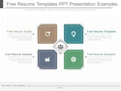 Free Resume Templates Ppt Presentation Examples