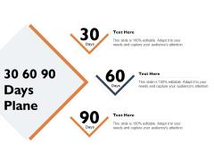 Freehold Property Business Plan 30 60 90 Days Plane Ppt PowerPoint Presentation Summary Portrait PDF