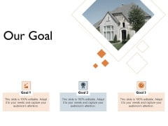 Freehold Property Business Plan Our Goal Ppt Inspiration Ideas PDF