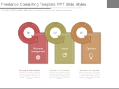 Freelance Consulting Template Ppt Slide Styles