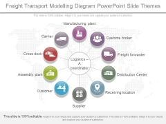 Freight Transport Modelling Diagram Powerpoint Slide Themes
