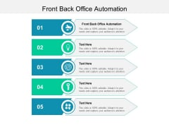 Front Back Office Automation Ppt PowerPoint Presentation Professional Graphics Design Cpb