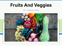 Fruits And Veggies Farmer Plucking Fresh Fruits Ppt PowerPoint Presentation Complete Deck