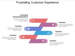 Frustrating Customer Experience Ppt PowerPoint Presentation Infographic Template Examples Cpb Pdf