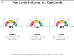 Fuel Levels Indicators And Dashboards Ppt PowerPoint Presentation Outline Skills