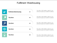 Fulfilment Warehousing Ppt PowerPoint Presentation Styles Graphics Design Cpb