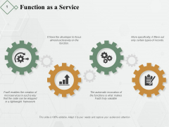 Function As A Service Ppt PowerPoint Presentation Inspiration Tips