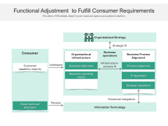 Functional Adjustment To Fulfill Consumer Requirements Ppt PowerPoint Presentation Slide Download PDF