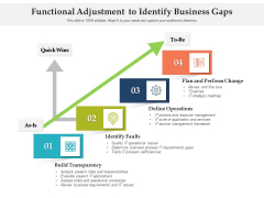 Functional Adjustment To Identify Business Gaps Ppt PowerPoint Presentation Icon Samples PDF