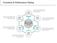 Functional And Performance Testing Ppt PowerPoint Presentation Summary Tips