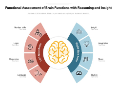 Functional Assessment Of Brain Functions With Reasoning And Insight Ppt PowerPoint Presentation File Grid PDF