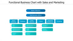 Functional Business Chart With Sales And Marketing Ppt PowerPoint Presentation Icon Professional PDF