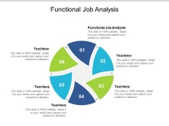 Functional Job Analysis Ppt PowerPoint Presentation Outline Backgrounds Cpb