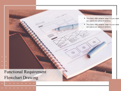 Functional Requirement Flowchart Drawing Ppt PowerPoint Presentation Summary Format Ideas PDF