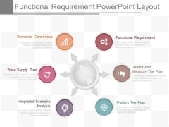 Functional Requirement Powerpoint Layout