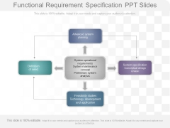 Functional Requirement Specification Ppt Slides