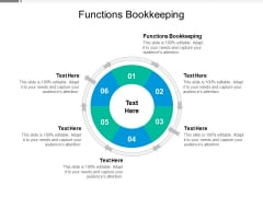 Functions Bookkeeping Ppt PowerPoint Presentation Model Designs Cpb
