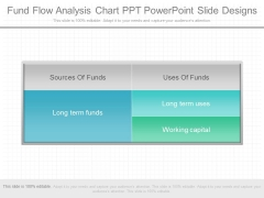 Fund Flow Analysis Chart Ppt Powerpoint Slide Designs