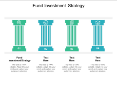 Fund Investment Strategy Ppt PowerPoint Presentation File Design Ideas Cpb