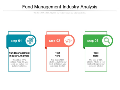 Fund Management Industry Analysis Ppt PowerPoint Presentation Pictures Icon Cpb Pdf