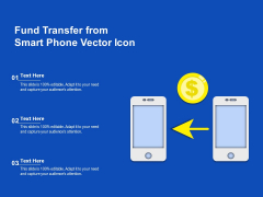 Fund Transfer From Smart Phone Vector Icon Ppt PowerPoint Presentation File Graphic Tips PDF