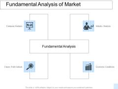 Fundamental Analysis Of Market Ppt PowerPoint Presentation Diagrams