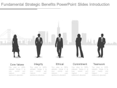 Fundamental Strategic Benefits Powerpoint Slides Introduction