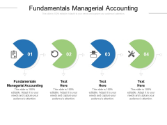 Fundamentals Managerial Accounting Ppt PowerPoint Presentation Portfolio Topics Cpb