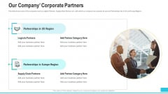 Funding Deck To Procure Funds From Public Enterprises Our Company Corporate Partners Professional PDF
