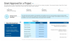 Funding Deck To Raise Grant Funds From Public Organizations Grant Approval For A Project Demonstration PDF