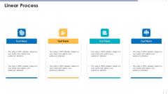 Funding Document Management Presentation Linear Process Introduction PDF