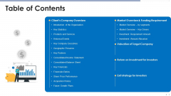 Funding Document Management Presentation Table Of Contents Template PDF