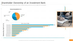 Funding Pitch Book Outline Shareholder Ownership Of An Investment Bank Slides PDF
